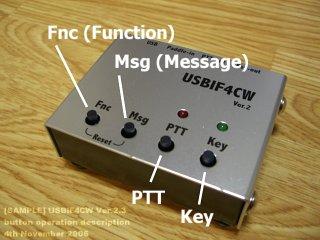 USBIF4CW Ver.2 button description
