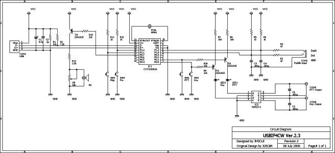 USB)F4CW回路図